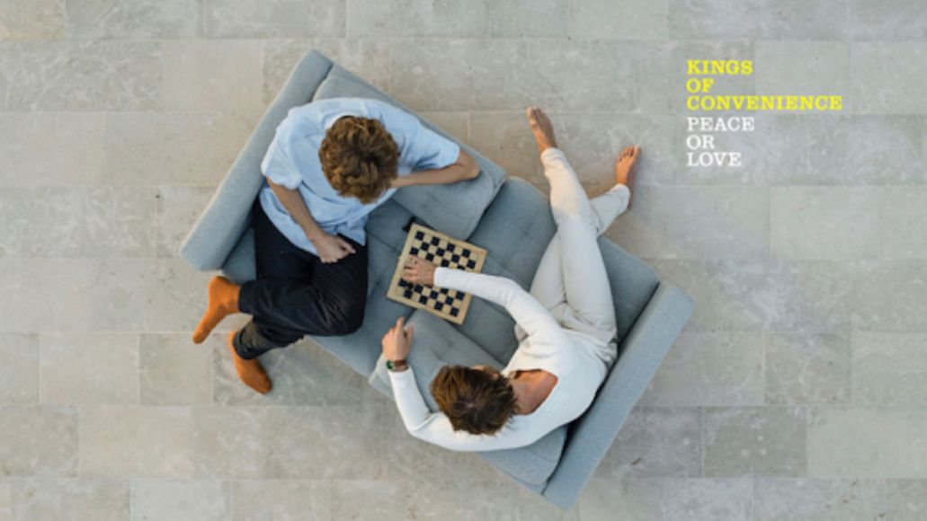 Peace or Love by Kings of Convenience album artwork cover art