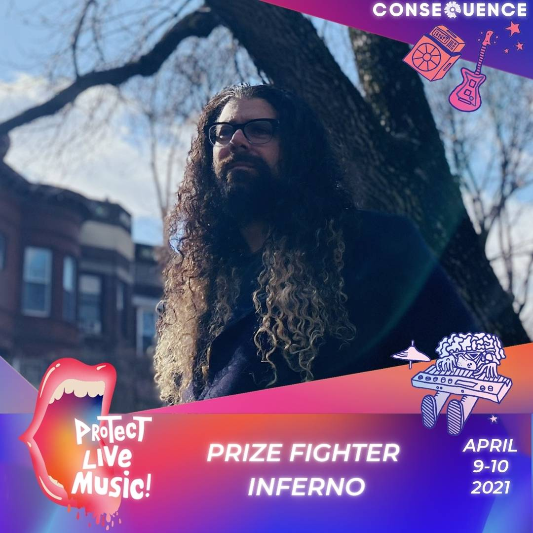 Prize Fighter Inferno 1 Protect Live Music Livestream: Get Your Free Ticket