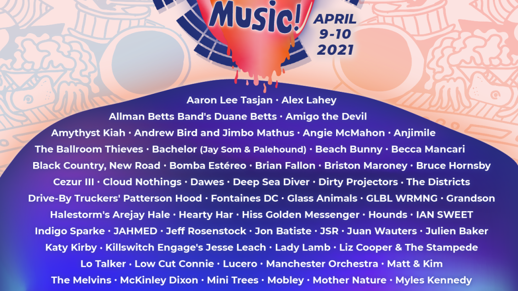 Protect Live Music lineup poster