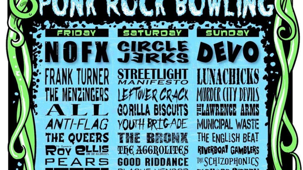Punk Rock Bowling Poster 2021