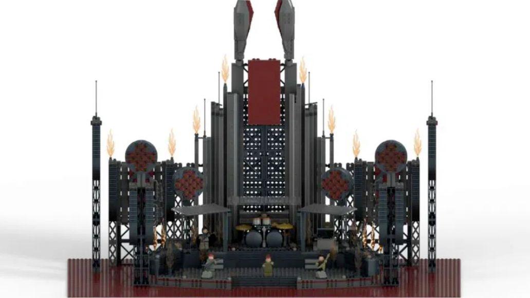Rammstein Lego Stage