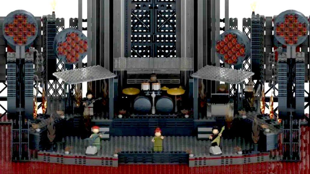 Rammstein Lego Stage Close