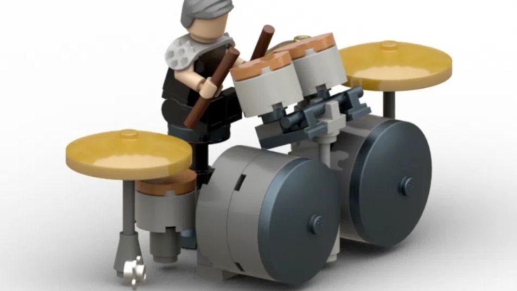 Rammstein Lego Drummer