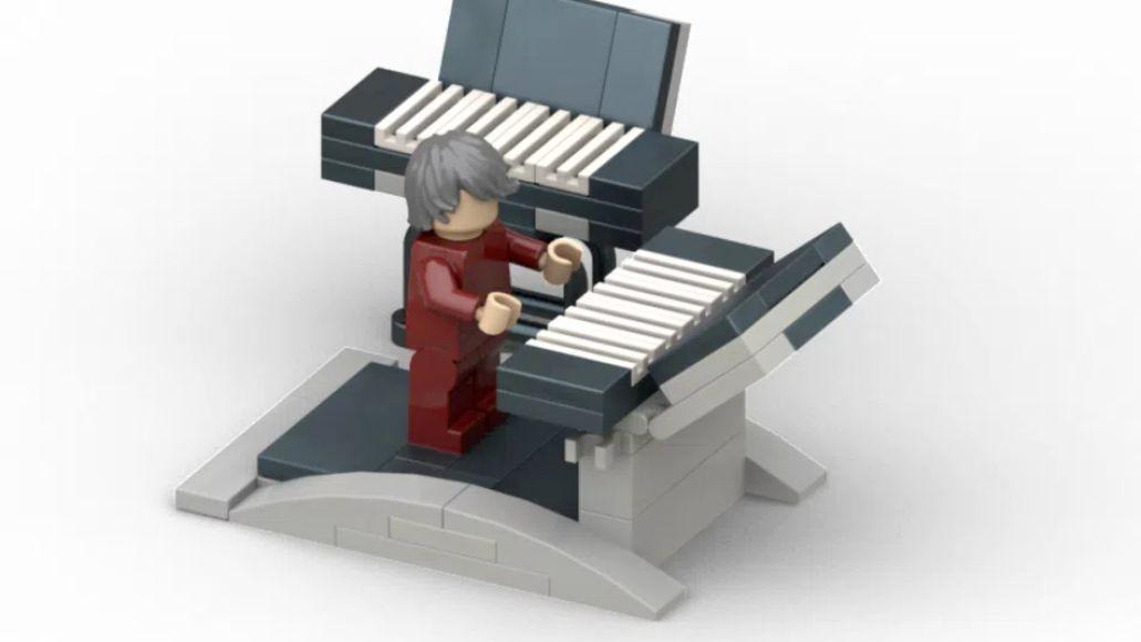 Rammstein Lego Keyboardist