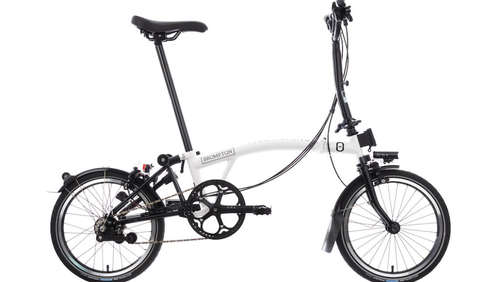 Rise Against Brompton bike