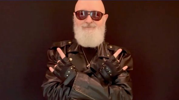 Judas Priest's Rob Halford urges vaccinations
