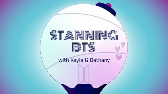 Stanning BTS logo