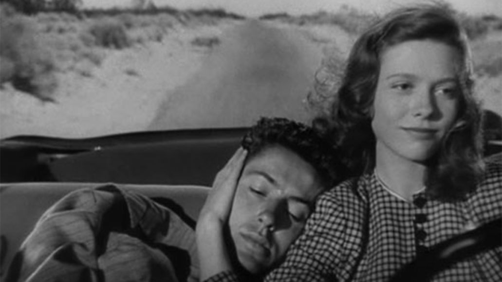 They Live By Night Farley Granger and Cathy O'Donnell