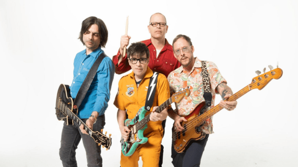 Weezer I Need Some of That stream new song Van Weezer music video, photo by Sean Murphy