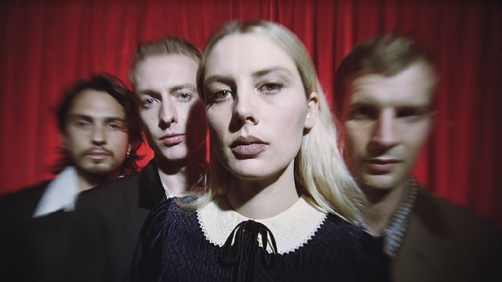 Wolf Alice Smile new song music video stream, photo by Jordan Hemingway