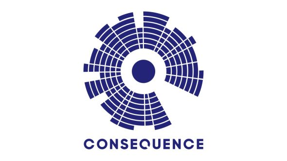 consequence of sound relaunch logo