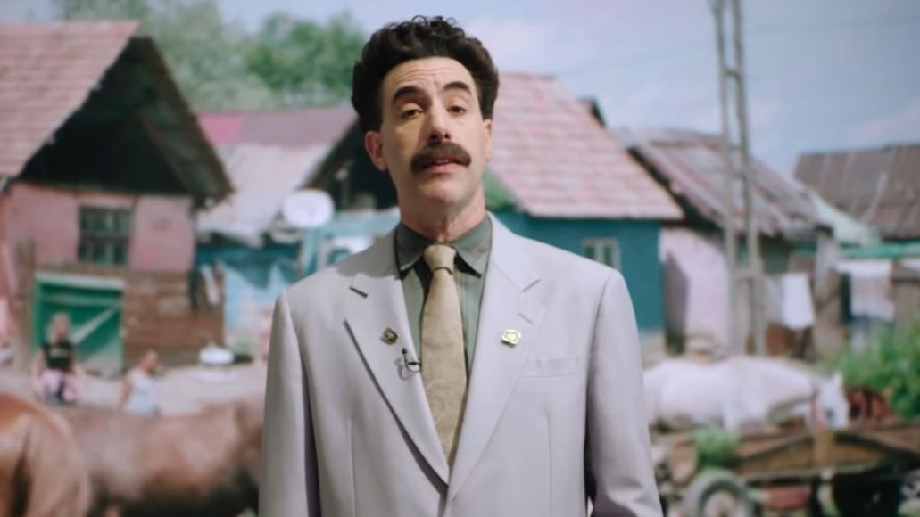 borat 2 extended cut trailer supplemental reportings retrieved from floor of stable containing editing machine