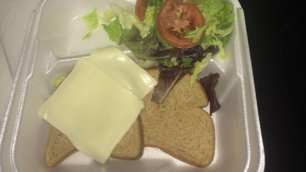 fyre fest cheese sandwich tweet nft
