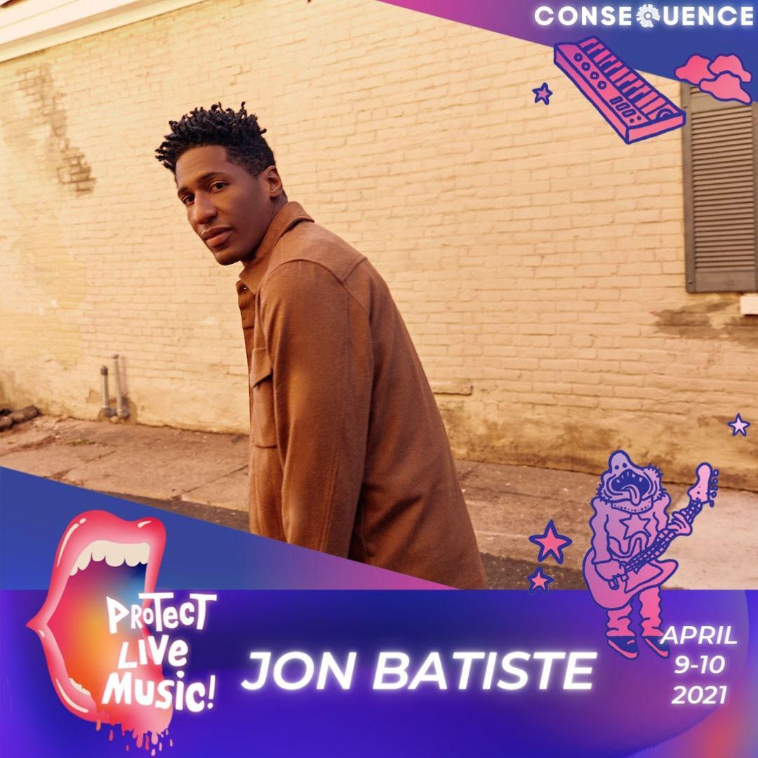 jonbatisteIG Protect Live Music Livestream: Get Your Free Ticket
