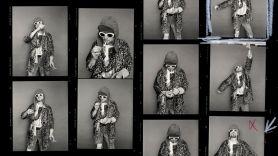 kurt cobain nirvana last session photoshoot nft auction