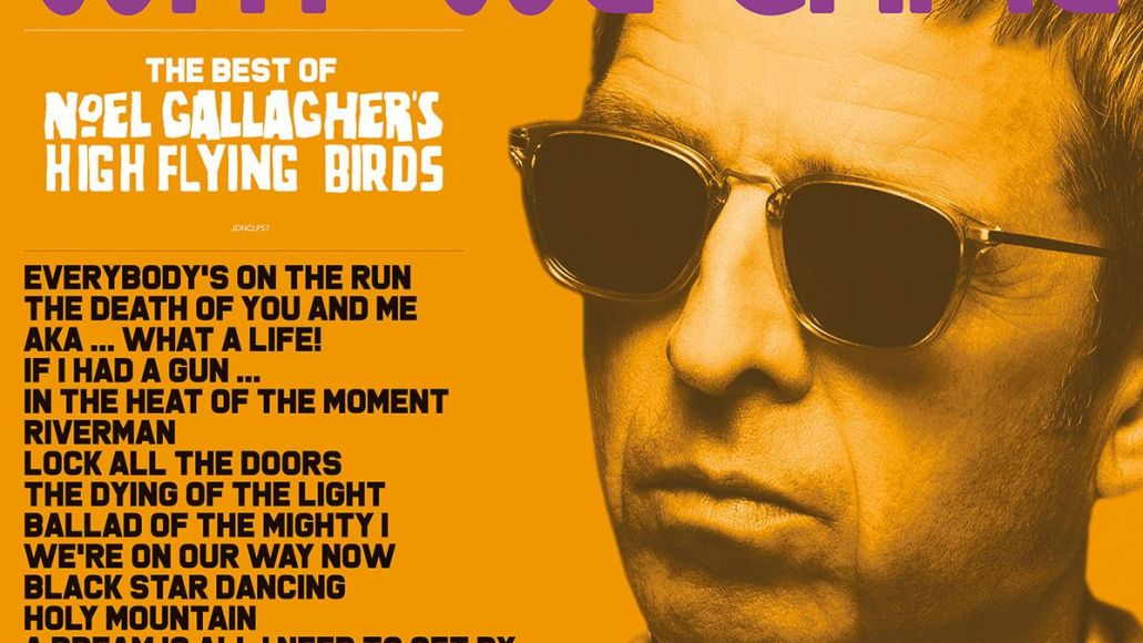 noel gallagher's back the way we came vol 1 (2011-2021) greatest hits album cover art artwork we're on our way now