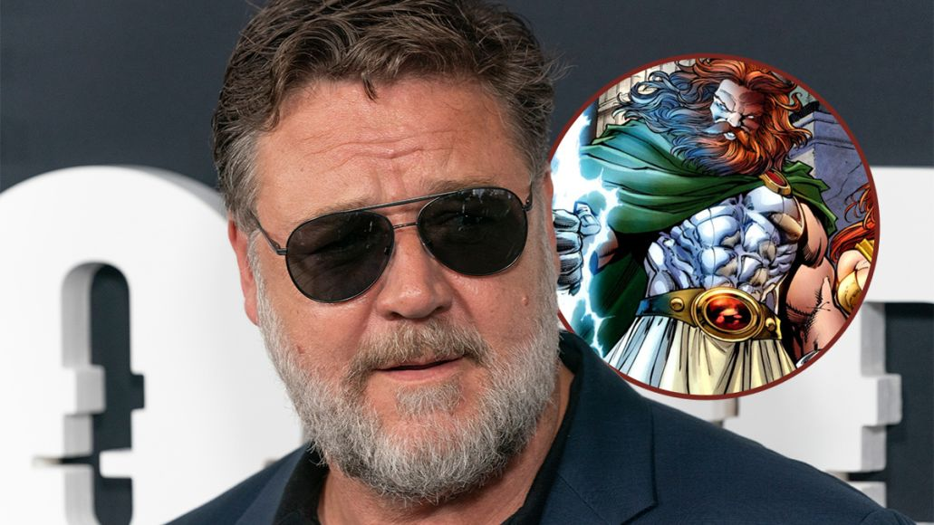 russell crowe zeus thor love and thunder casting news marvel rumors mcu