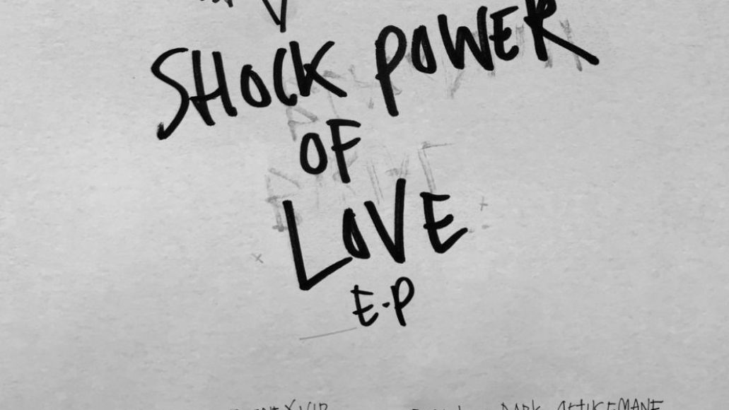 shock power of love ep artwork Burial and Blackdown Share New EP Shock Power of Love: Stream