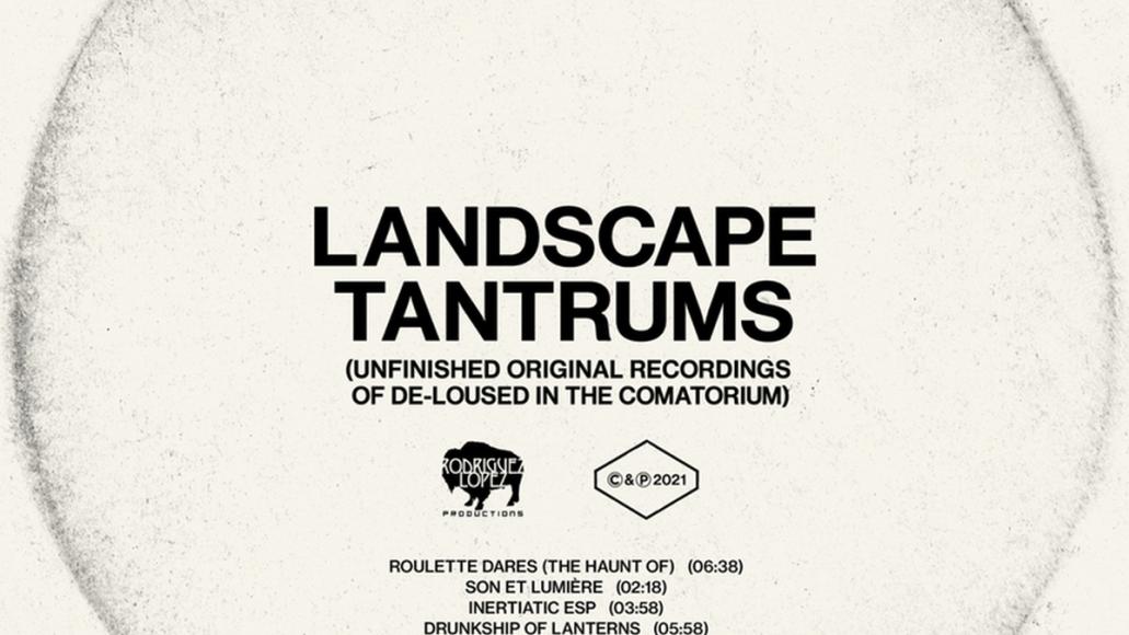 the mars volta landscape tantrums de-loused in the comatorium new album artwork