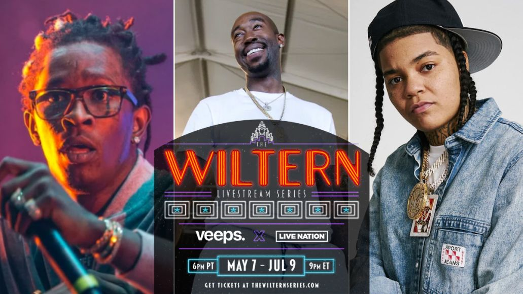 the wiltern livestream series veeps live nation freddie gibbs young ma young thug