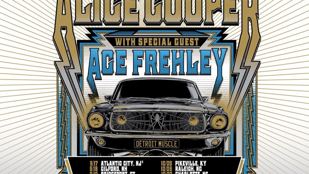 Alice Cooper Ace Frehley Tour Poster