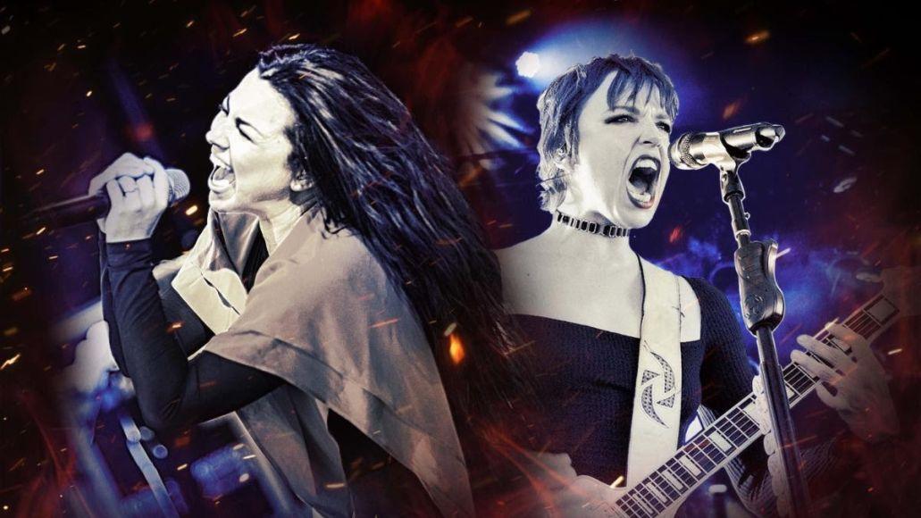 Evanescence Halestorm Tour 2021