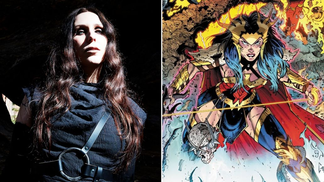 """Stream Chelsea Wolfe's New Wonder Woman-Themed Song """"Diana"""""""