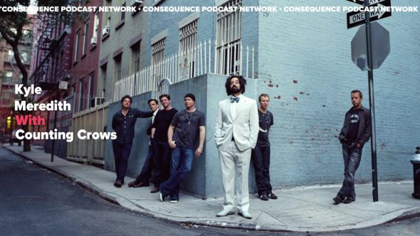Counting Crows Adam Duritz interview kyle meredith with podcast