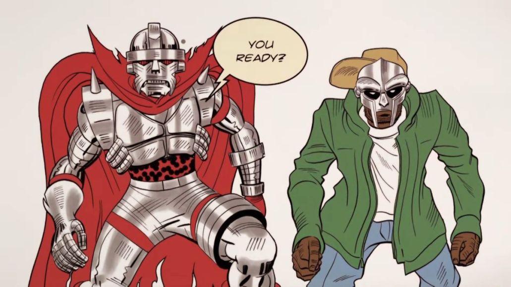 "MF Doom Czarface Super What stream new album music Czarface and MF DOOM in ""Bomb Thrown"" video"