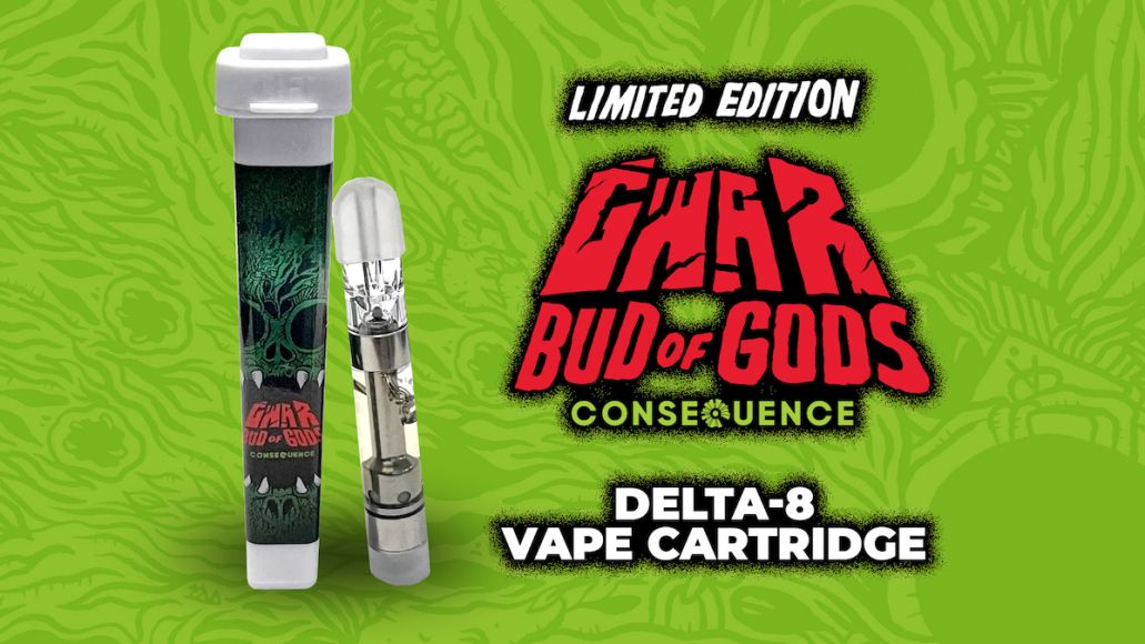 GWAR bud of Gods delta-8 vape cartridge limited editions