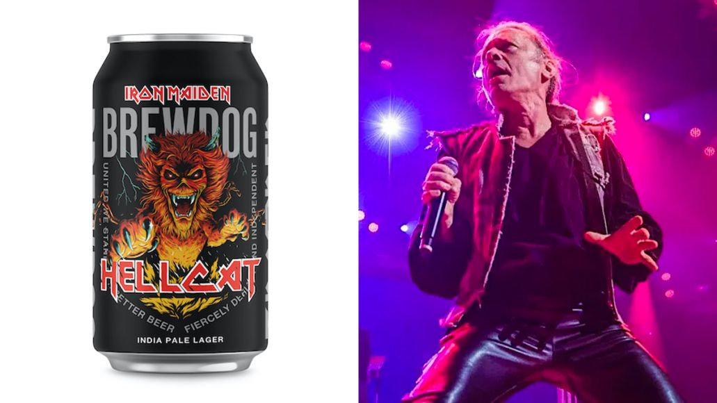 Iron Maiden Hellcat Indie Pale Lager Beer