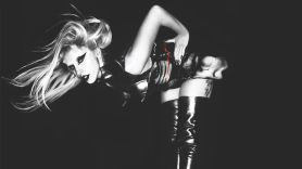 Lady Gaga, photo by Nick Knight, courtesy of Interscope Records