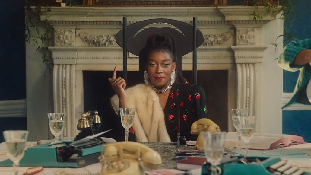 Little Simz Woman stream Cleo Sol new song music video, photo via YouTube
