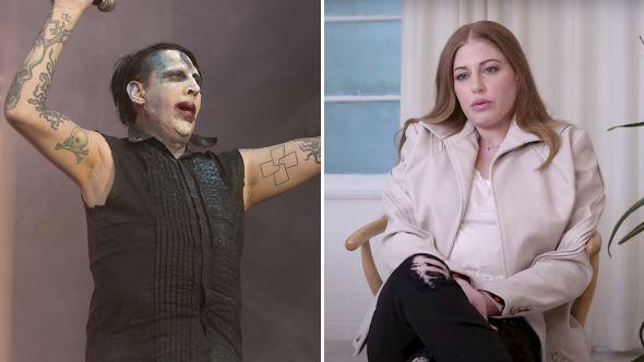 Marilyn Manson Ashley Morgan Smithline