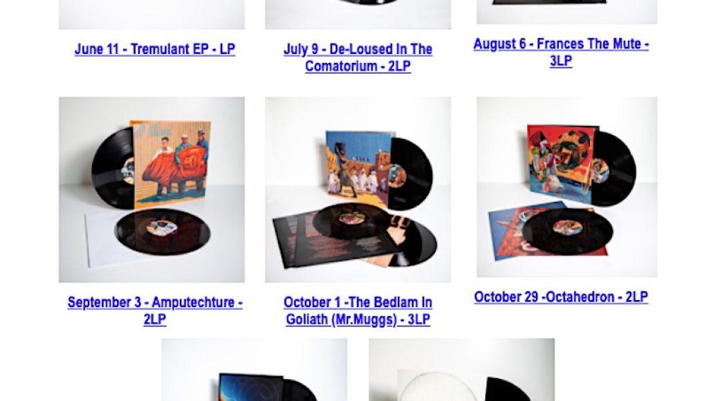 Mars Volta Vinyl Releases