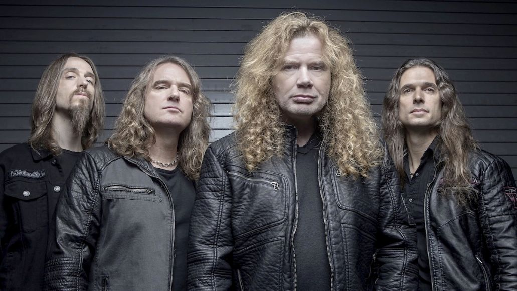 Megadeth David Ellefson replace bass new album