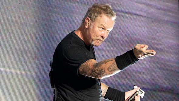 Metallica James Hetfield skeptical vaccine