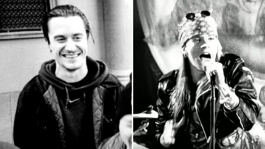 Mike Patton Explains Why He Peed on Axle Rose's Teleprompter
