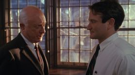 Norman Lloyd in Dead Poets Society