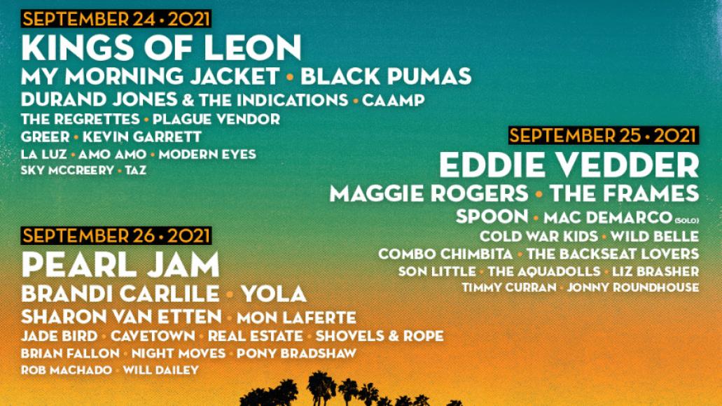 Ohana Fest 2021 lineup