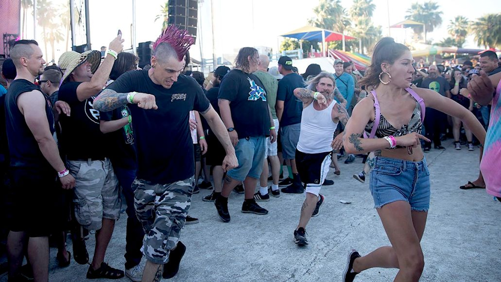 Punk in the Park Arizona pit