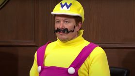 Elon Musk as Wario on SNL