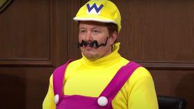 Elon Musk as Wario on SNL