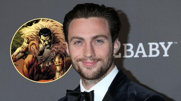 aaron taylor-johnson kraven the hunter marvel sony universe spider-man villain solo movie casting