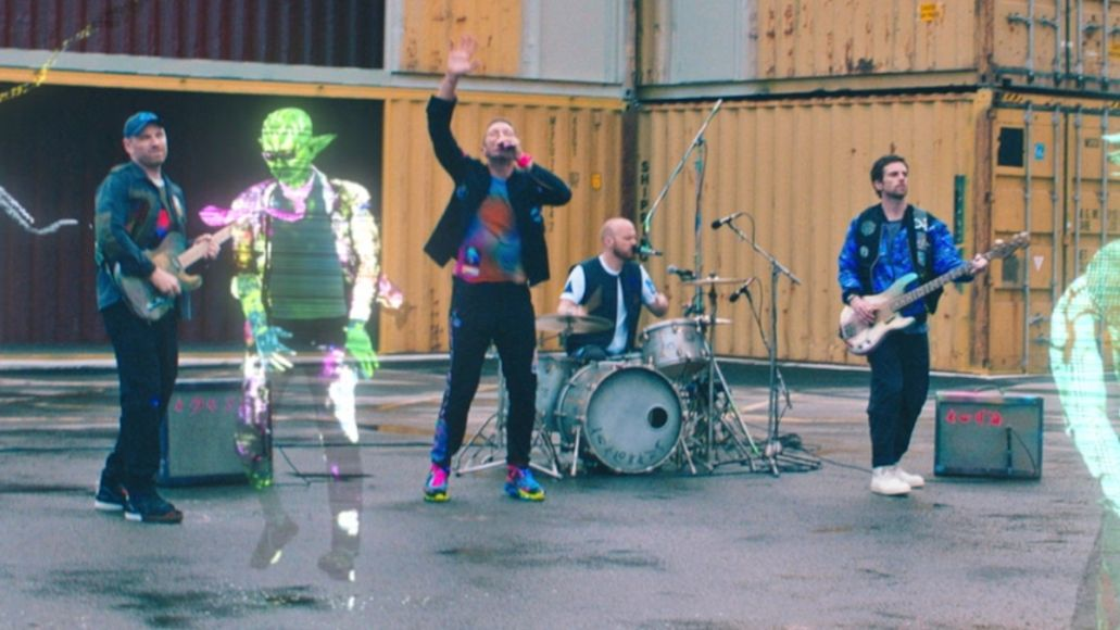 coldplay new song video higher power watch