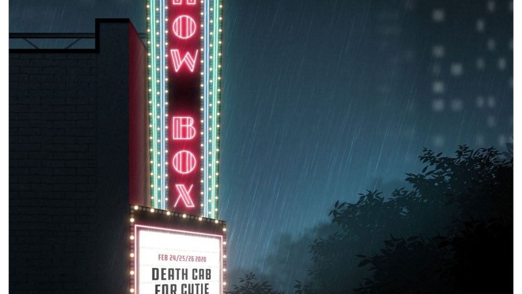 death cab for cutie new album live on showbox artwork