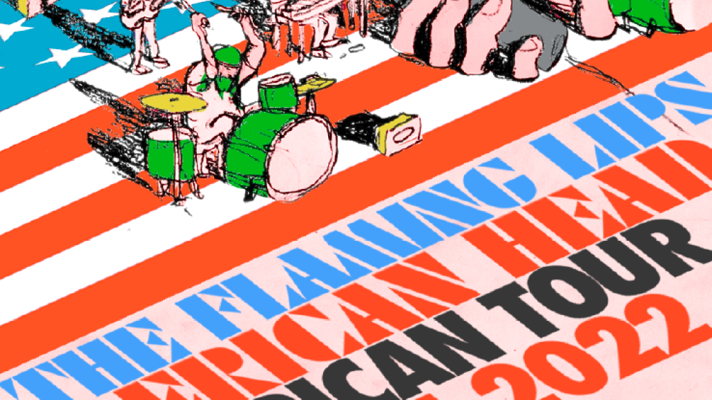 flaming lips tour poster The Flaming Lips Announce Dates for 2021 22 World Tour