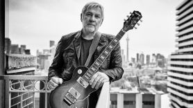 Alex Lifeson Epiphone guitar and two new songs