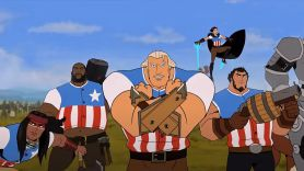 America The Motion Picture trailer animated movie video new film Channing Tatum Simon Pegg Killer Mike Andy Samberg America: The Motion Picture (Netflix)