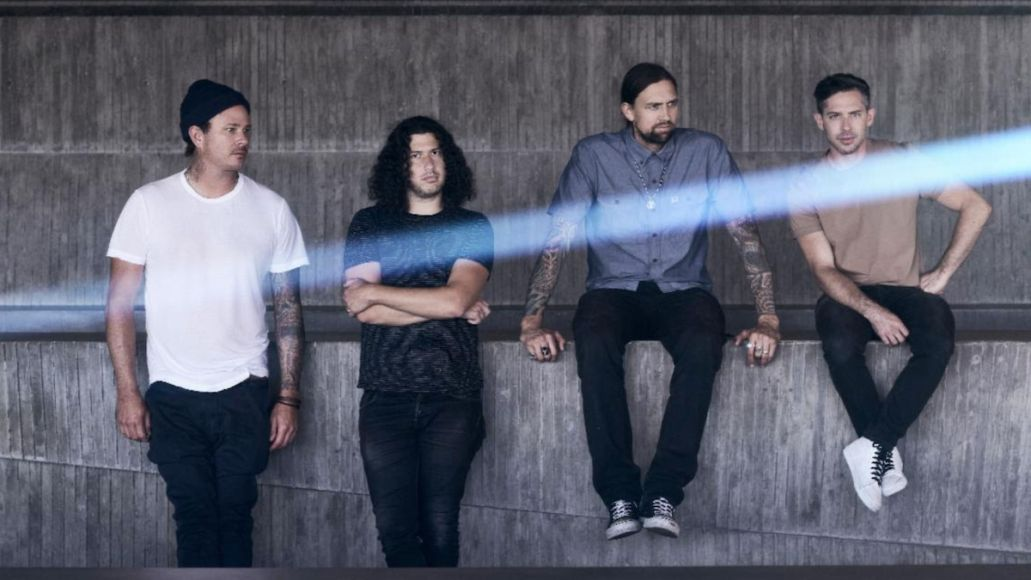 Angels & Airwaves Lifeforms new album Restless Souls stream song world tour dates 2021 2022 live tickets Angels and Airwaves, photo by Jonathan Weiner